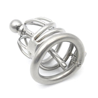 YiFeng Stainless Steel Male Chastity Cage Device Belt Urethral Tube Bondage Fetish 124