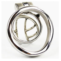 YiFeng Stainless Steel Male Chastity Cage Device Belt Restraint Men Bondage Fetish 146