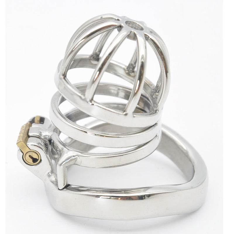 YiFeng Stainless Steel Male Chastity Cage Device Belt Restraint Men Bondage Fetish 148