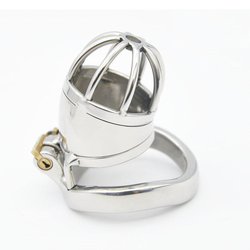 YiFeng Stainless Steel Male Chastity Cage Device Belt Restraint Men Bondage Fetish 152