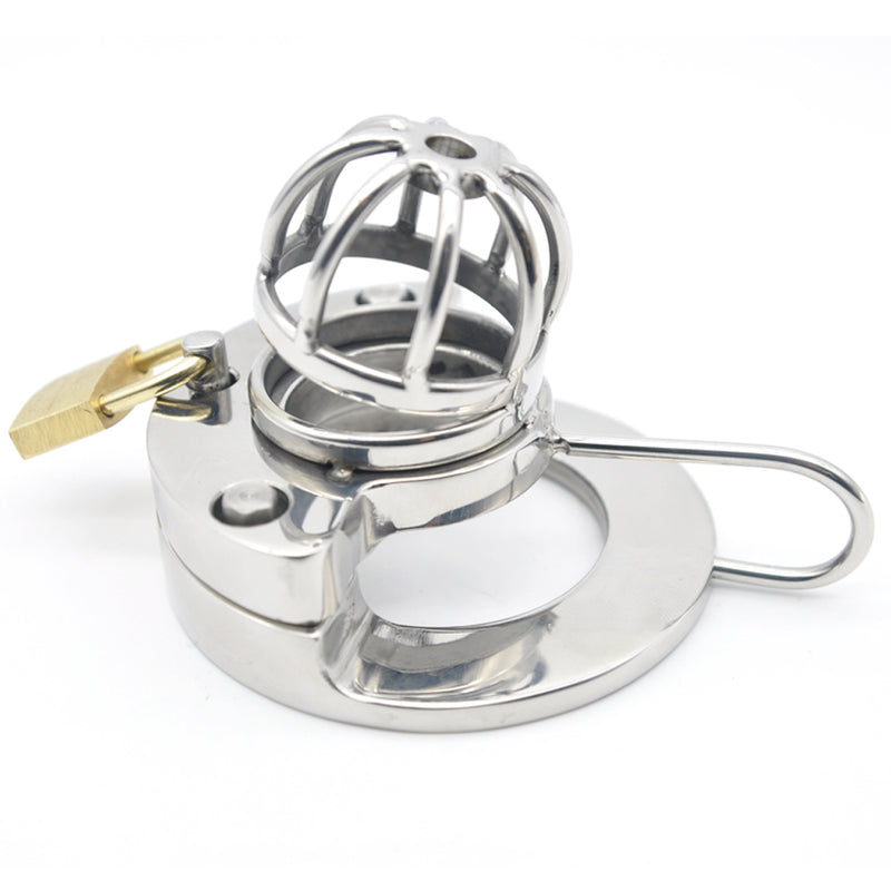YiFeng Stainless Steel Male Chastity Cage Device Belt 165