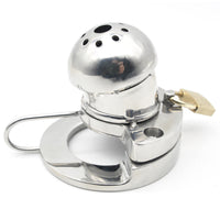 YiFeng Stainless Steel Male Chastity Cage Device Belt 168