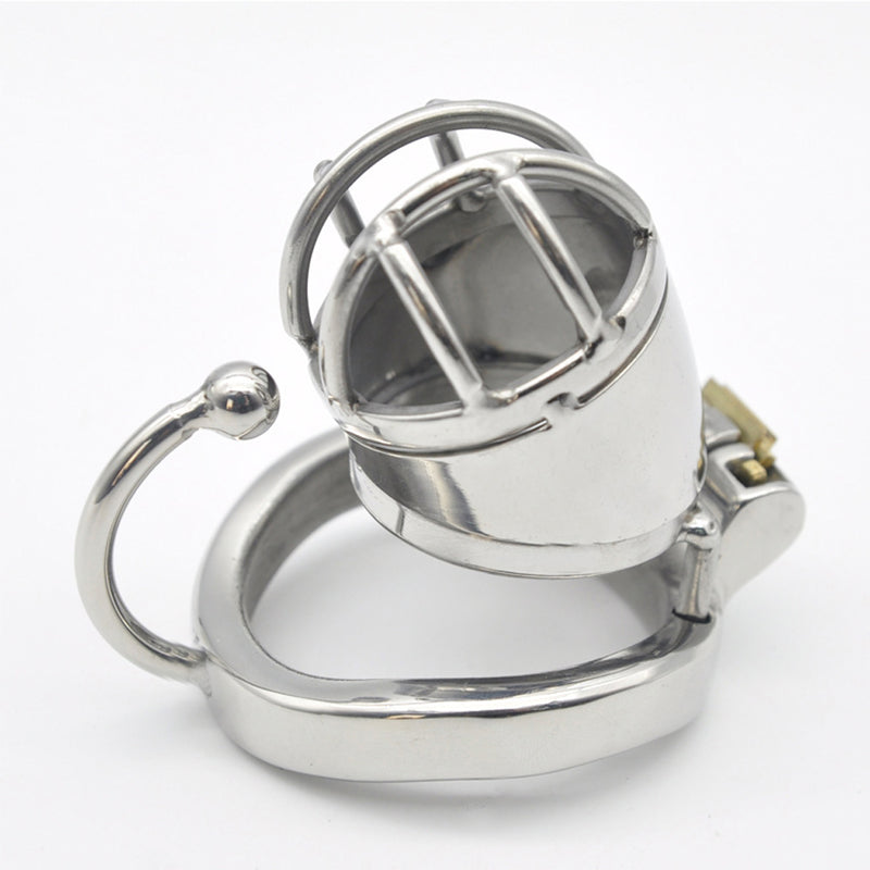 YiFeng Stainless Steel Male Chastity Cage Device Belt 172