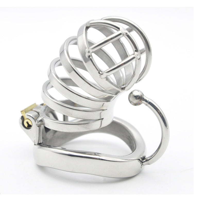YiFeng Stainless Steel Male Chastity Cage Device Belt 175