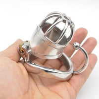 YiFeng Stainless Steel Male Chastity Cage Device Belt 178