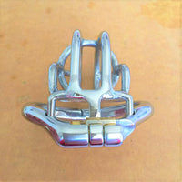 YiFeng Stainless Steel Male Chastity Cage Device Belt 193