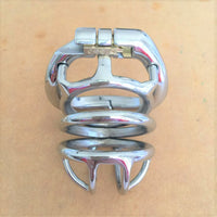 YiFeng Stainless Steel Male Chastity Cage Device Belt 188