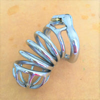 YiFeng Stainless Steel Male Chastity Cage Device Belt 190