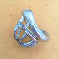 YiFeng Stainless Steel Male Chastity Cage Device Belt 192