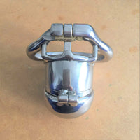 YiFeng Stainless Steel Male Chastity Cage Device Belt 195