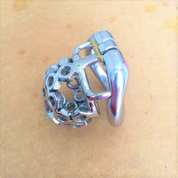 YiFeng Stainless Steel Male Chastity Cage Device Belt 197