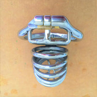 YiFeng Stainless Steel Male Chastity Cage Device Belt 198