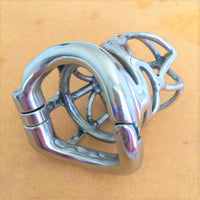 YiFeng Stainless Steel Male Chastity Cage Device Belt 201