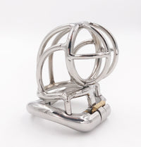 YiFeng Stainless Steel Male Chastity Cage Device Belt 205
