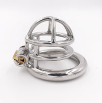 YiFeng Stainless Steel Male Chastity Cage Device Belt 208