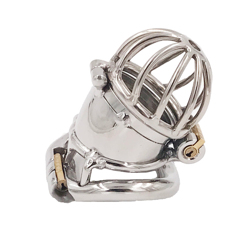 YiFeng Stainless Steel Male Chastity Cage Device Belt 209