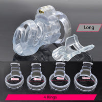 YiFeng Male Biosourced Resin Chastity Cage Device 220