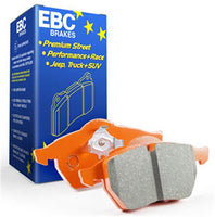 EBC OrangeStuff Brake Pads for Evora 400/410  ---  Race Pads