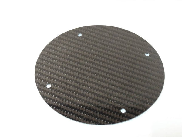 Carbon Fiber Speaker Block Off Plates