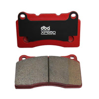 DBA XP650 TRACK/HEAVY LOAD PERFORMANCE BRAKE PADS -- Aggressive Use/Track Day Pads