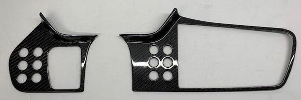 Carbon Fiber Evora Dash Trim Covers for S1 Evora 2010 to 2015