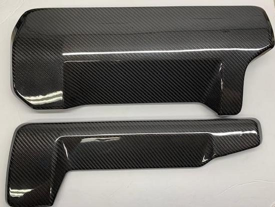 Carbon Fiber Evora Engine Cover Set (Exige V6 Style) for S1 Evora 2010 to 2015