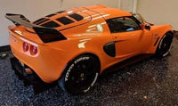 2010 Exige Style Wing for Elise & Exige Black Fiberglass or Carbon Fiber