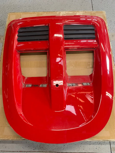 USED- ARDENT RED ENGINE COVER FOR ELISE