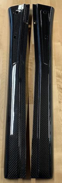 GRP Carbon Fiber Door Sill Trim Covers for Evora 400