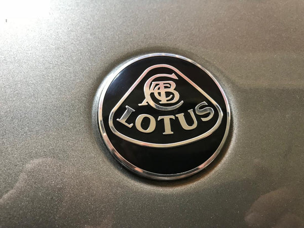 Lotus Aluminum Overlay Badge for Elise/Exige