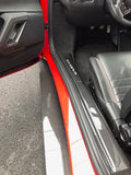 GRP Carbon Fiber Door Sill Trim Covers for Evora 400,410,430,GT