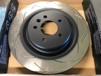 DBA 4000 Series 1 Piece Slotted Rotors for S1 Evora & Evora S