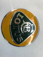 Lotus Aluminum Overlay Nose Badge