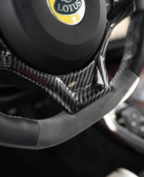 Carbon Fiber Steering Wheel Finisher Trim For Evora.  400/410/430-GT Style