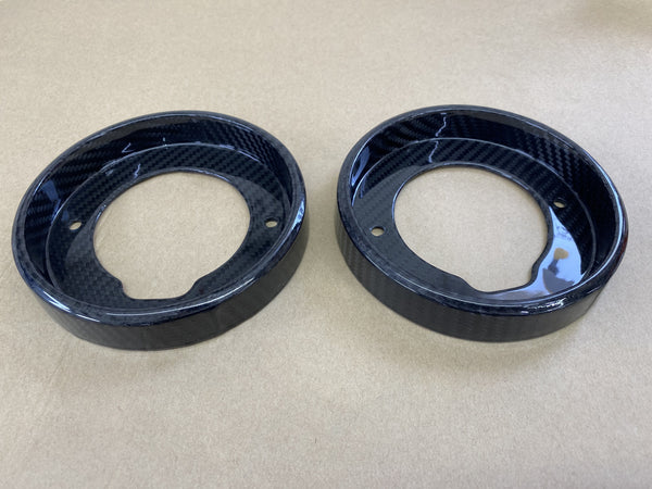 Evora Carbon Fiber Tail Light Bezels