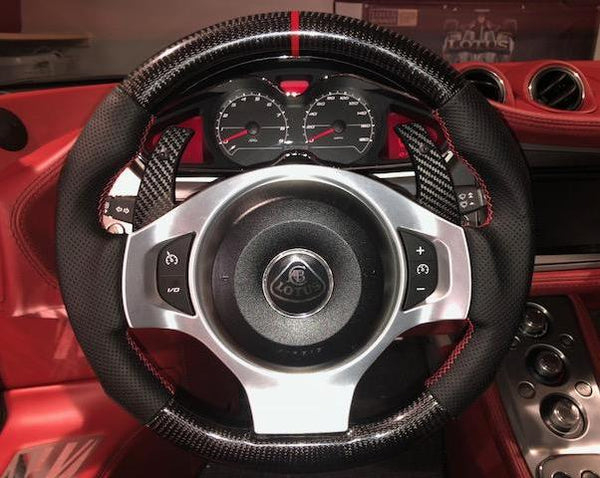 GRP Customized Steering Wheels for Evora