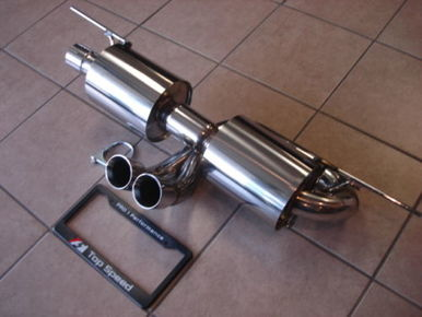 TOP SPEED CATBACK EXHAUST – LOTUS ELISE/EXIGE/2-ELEVEN 2005-12