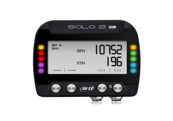 AIM Dash Logger - SOLO 2 DL GPS Lap Timer with ECU Connection