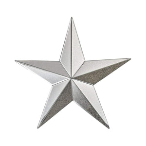Wishmaker Antiqued 18-Inch Mirrored Star Wall Decor 1114-180