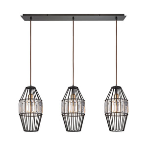 Yardley 3 Light Pendant In Oil Rubbed Bronze 14248/3LP