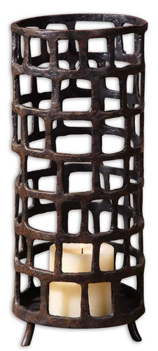 Uttermost Arig Distressed Candleholder