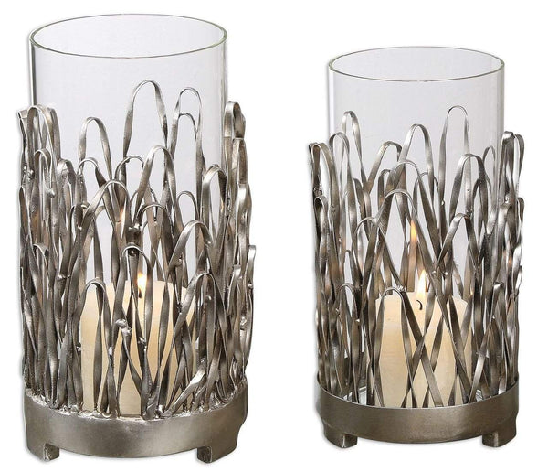 New Product  Uttermost Corbis Candleholders Set/2 Sold by VaasuHomes