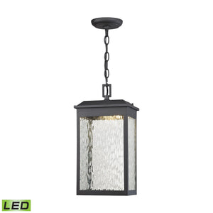 Newcastle LED Outdoor Pendant In Matte Black 45203/LED