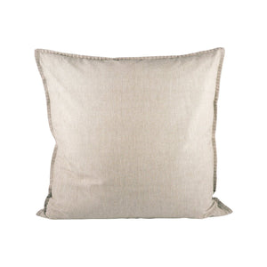 Pomeroy Chambray 24x24 Pillow In Chateau Grey