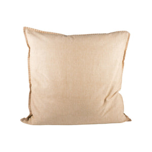 Pomeroy Chambray 24x24 Pillow In Sand