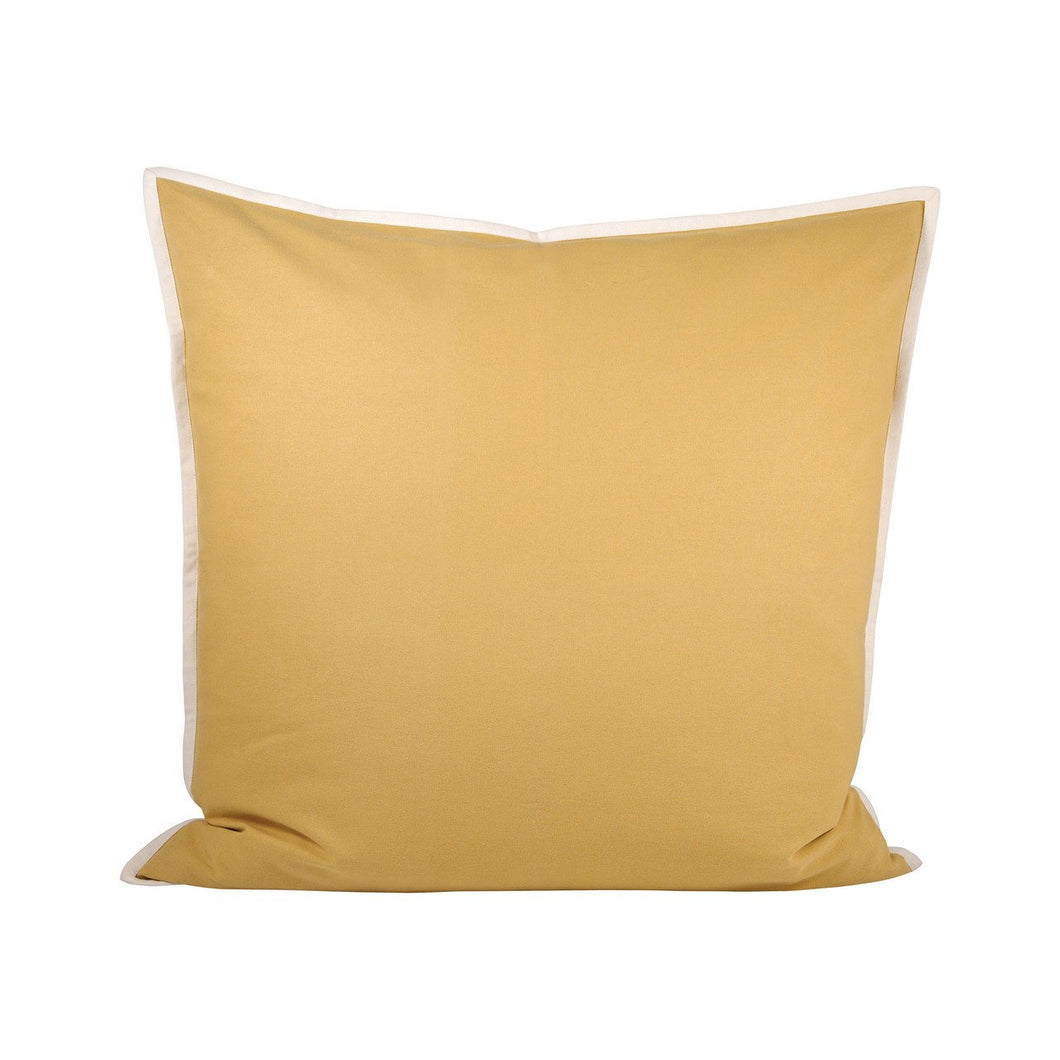 Pomeroy Dylan Pillow 24x24-Inch In Dijon