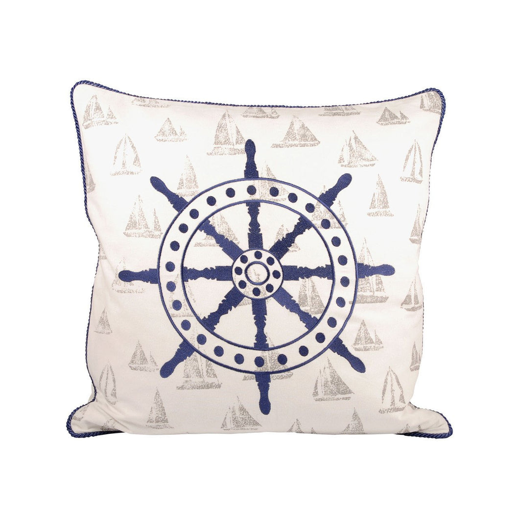 Pomeroy Captains Wheel 20x20 Pillow