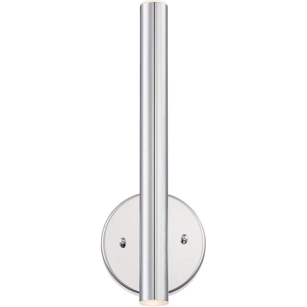 Forest 2 Light Wall Sconce in Chrome finish