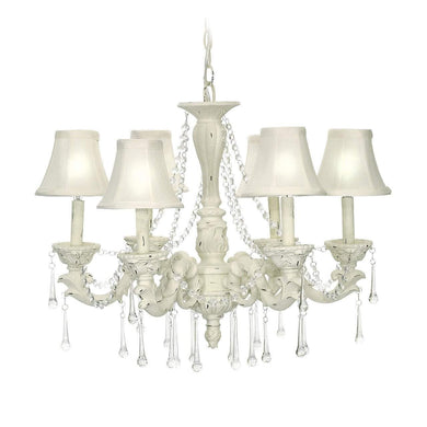 6-Light Blanche Boudoir 92-750