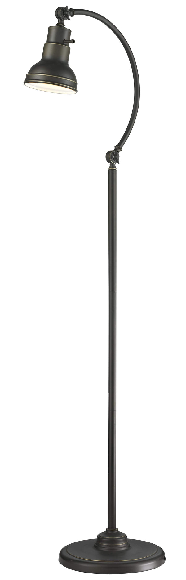 New zlite Product  Ramsay Collection 1 Light Floor Lamp in Olde Bronze Finish Sold by VaasuHomes
